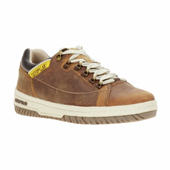 Schoenen Heren Lage sneakers Caterpillar APA Brown