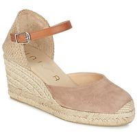 Schoenen Dames Sandalen / Open schoenen Unisa CACERES Beige