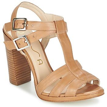 Schoenen Dames Sandalen / Open schoenen Unisa YUM Beige