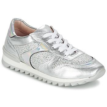 Schoenen Dames Lage sneakers Unisa DALTON Zilver / Wit