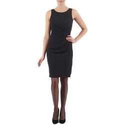 Textiel Dames Korte jurken Esprit BEVERLY CREPE Zwart