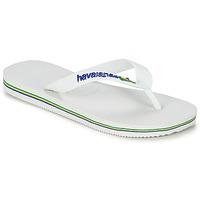 Schoenen Kinderen Slippers Havaianas BRASIL LOGO Wit