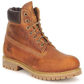 Schoenen Heren Laarzen Timberland HERITAGE 6 IN PREMIUM Brown