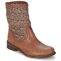 Schoenen Dames Laarzen Felmini GREDO Chocolade