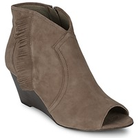 Schoenen Dames Low boots Ash DRUM Taupe