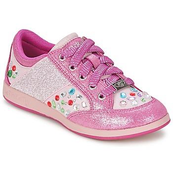 Schoenen Meisjes Lage sneakers Lelli Kelly GLITTER-ROSE-CALIFORNIA Roze