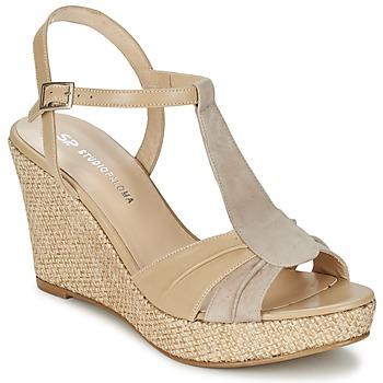 Schoenen Dames Sandalen / Open schoenen Studio Paloma LUCREZIA Beige