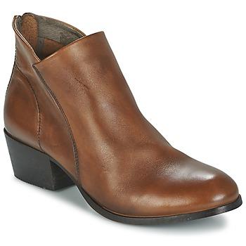 Schoenen Dames Enkellaarzen Hudson  Brown