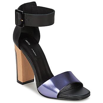 Schoenen Dames Sandalen / Open schoenen Miista LILY Zwart / Lavande