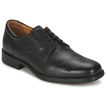 Schoenen Heren Derby Geox FEDERICO Zwart