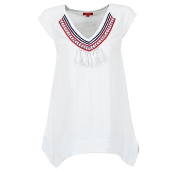 Textiel Dames T-shirts korte mouwen Derhy GALION Wit