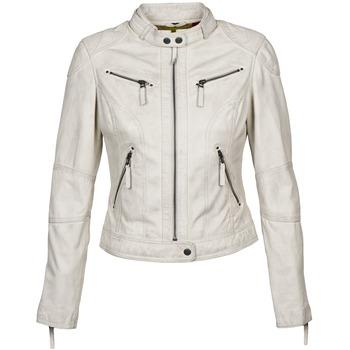 Textiel Dames Leren jas / kunstleren jas Oakwood 60135 Wit