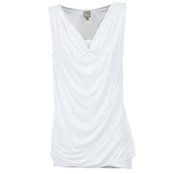 Textiel Dames Mouwloze tops Bench DUPLE Wit