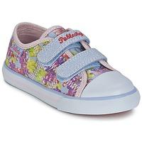 Schoenen Meisjes Lage sneakers Pablosky MIDILE Multikleuren