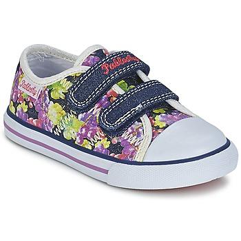 Schoenen Meisjes Lage sneakers Pablosky EJADINE Blauw