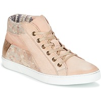 Schoenen Dames Lage sneakers Dream in Green MOLIMELA Beige / Roze