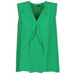 Textiel Dames Mouwloze tops Joseph DANTE Groen