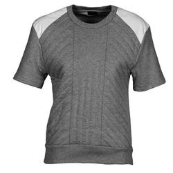 Textiel Dames Sweaters / Sweatshirts Joseph RD NK SS Grijs / Chiné / Wit