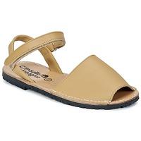 Schoenen Meisjes Sandalen / Open schoenen Citrouille et Compagnie BERLA Beige