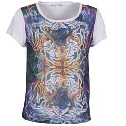 Textiel Dames T-shirts korte mouwen DDP PORIX Multikleuren