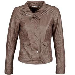 Textiel Dames Leren jas / kunstleren jas DDP GIRUP Brown