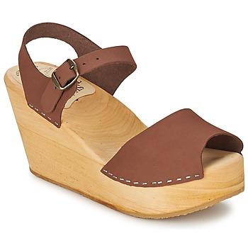 Schoenen Dames Sandalen / Open schoenen Le comptoir scandinave  Brown