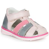 Schoenen Meisjes Sandalen / Open schoenen Citrouille et Compagnie FRINOUI Roze / Blauw / Clair / Fuschia