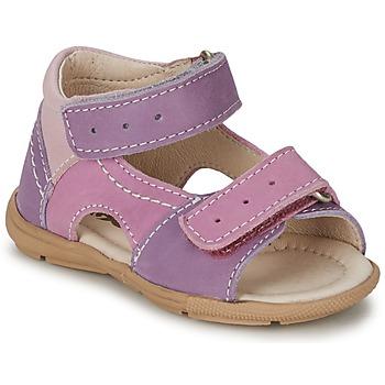 Schoenen Meisjes Sandalen / Open schoenen Citrouille et Compagnie KIMMY G  lilas / Violet / Nuee