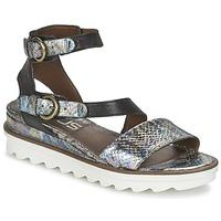 Schoenen Dames Sandalen / Open schoenen Mjus MIAMI Ecaille / Zwart
