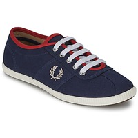 Schoenen Dames Lage sneakers Fred Perry HAYES CANVAS Blauw
