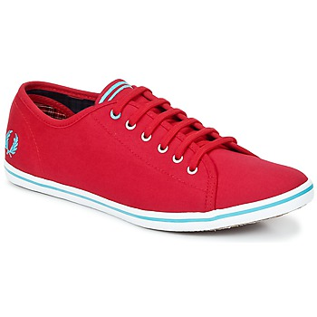 Schoenen Dames Lage sneakers Fred Perry PHOENIX CANVAS Rood / Blauw