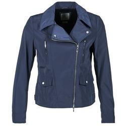 Textiel Dames Wind jackets Geox ZIPUL Marine