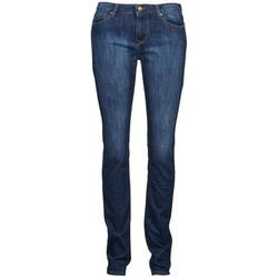 Textiel Dames Straight jeans Acquaverde NEW GRETTA Blauw