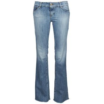 Textiel Dames Bootcut jeans Acquaverde ADRIANA Blauw