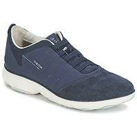Schoenen Dames Lage sneakers Geox NEBULA C Marine