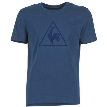 Textiel Heren T-shirts korte mouwen Le Coq Sportif ABRITO T Marine