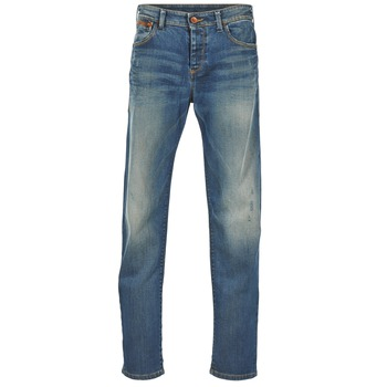 Textiel Heren Straight jeans Benetton GUATERRE Blauw / Medium