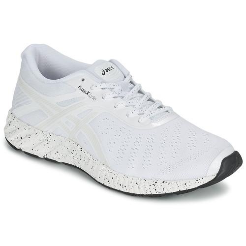 Schoenen Heren Running / trail Asics FUZE X LYTE WHITE NOISE PACK Wit / Zilver