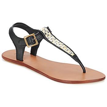 Schoenen Dames Sandalen / Open schoenen Koah MELL Zwart / Zilver