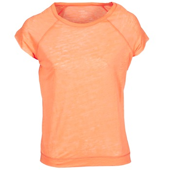 Textiel Dames T-shirts korte mouwen Majestic 2105 Orange / Fluo