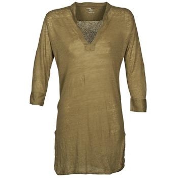 Textiel Dames Tunieken Majestic 530 Kaki