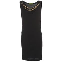 Textiel Dames Korte jurken Versace Jeans NDM931 Zwart