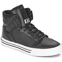 Schoenen Hoge sneakers Supra VAIDER CLASSIC Zwart / Wit