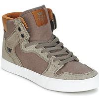 Schoenen Hoge sneakers Supra VAIDER Brown
