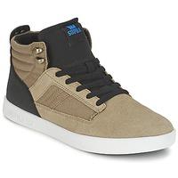 Schoenen Heren Hoge sneakers Supra BANDIT Brown / Zwart