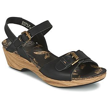 Schoenen Dames Sandalen / Open schoenen Panama Jack LAURA Zwart