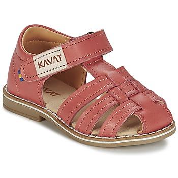 Schoenen Meisjes Sandalen / Open schoenen Kavat FORSVIK CORAIL