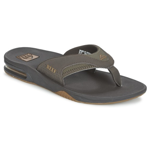 Schoenen Heren Slippers Reef FANNING Brown