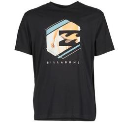 Textiel Heren T-shirts korte mouwen Billabong HEXAG SS Zwart