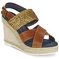 Schoenen Dames Sandalen / Open schoenen Napapijri BELLE  camel / Goud